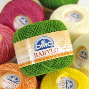 Gomitolo Babylo DMC Uncinetto Shop Prodotti Cotone Sito Merceria Il Mio Lavoro