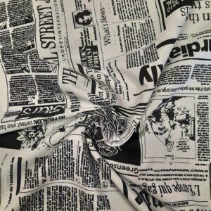 Tessuto giornale shop prodotti tessuti fantasia sito merceria il mio lavoro