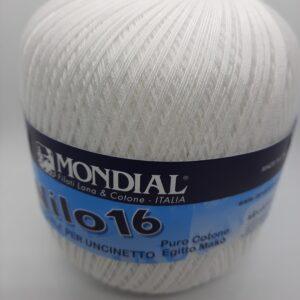 gomitolo cotone nilo 16 uncinetto shop prodotti filati cotone sito merceria il mio lavoro