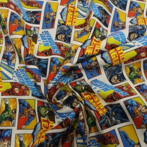 tessuto disney justice league shop prodotti tessuti fantasia sito merceria il mio lavoro
