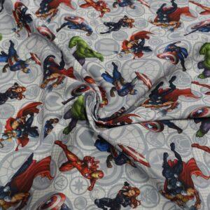 tessuto disney super eroi shop prodotti tessuti fantasia sito merceria il mio lavoro