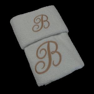 coppia asciugamani personalizzate shop prodotti servisi sito merceria il mio lavoro