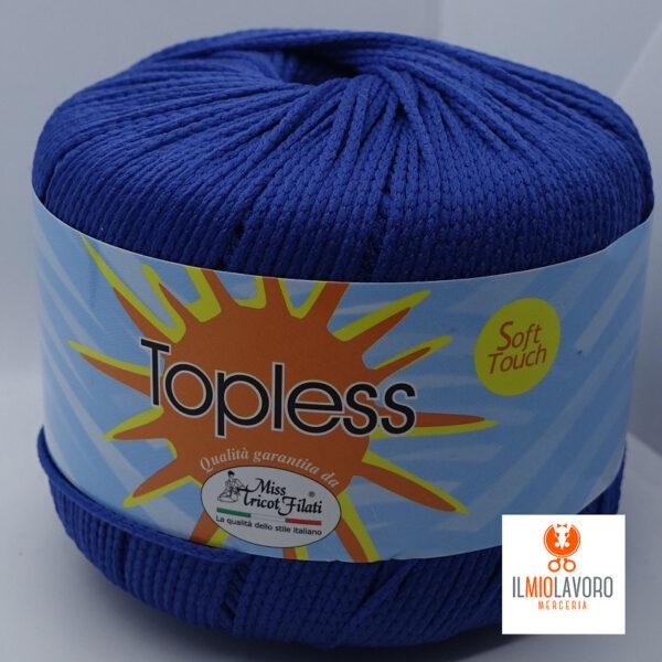 gomitolo 8 topless miss tricot shop prodotti filati cotone sito merceria il mio lavoro
