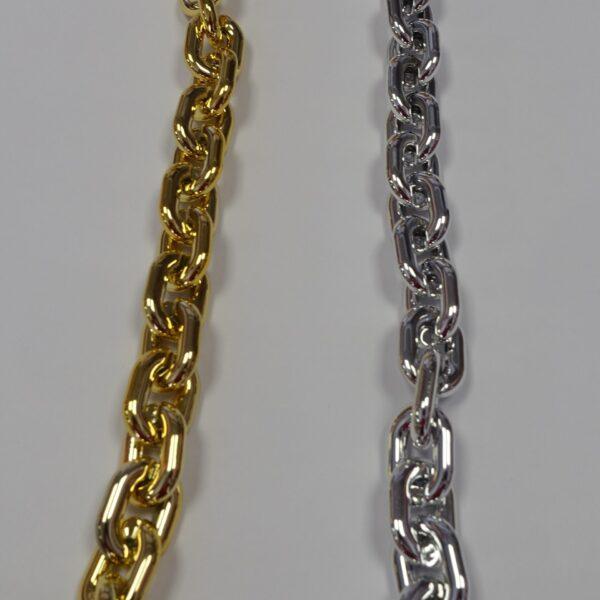 catena plastica oro argento accessori borse shop prodotti sito merceria il mio lavoro