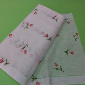 tessuto a metro per tendine a vetro tulipani tessuto per tende shop prodotti sito merceria il mio lavoro
